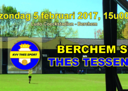 K.BerchemSport&#;VVThesSport:enkelenieuwtjes