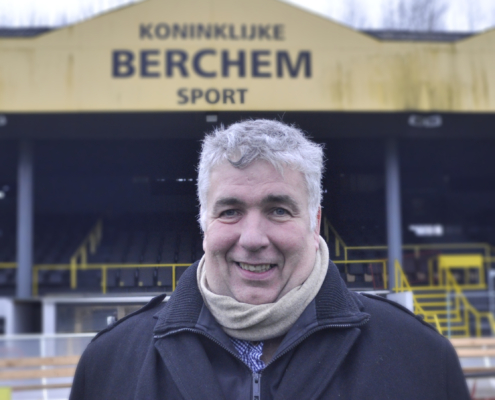 Peter Wouters schepen van Sport Antwerpen