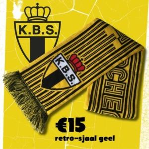 Retro sjaal geel