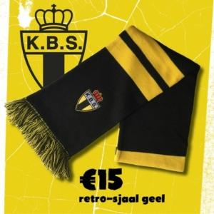 Retro sjaal zwart