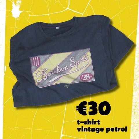 T shirt vintage petrol